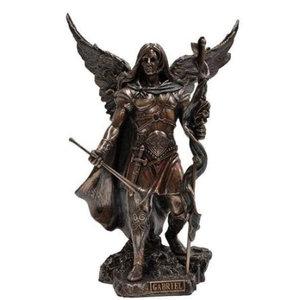 Unicorn Studios Bronze Statue of Archangel Gabriel