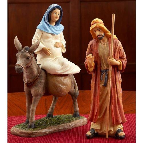 Three Kings Gifts REAL LIFE NATIVITY HOLY FAMILY