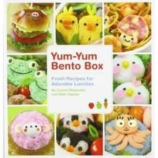 Livre - Yum-Yum Bento Box: Recettes fraîches pour d'adorables lunch
