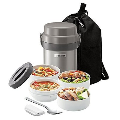 Zojirushi Zojirushi - Mr Bento Insulated Thermos Lunch Jar Set