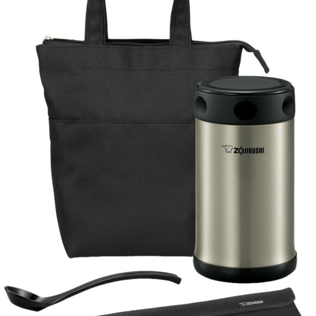 Zojirushi Zojirushi - Insulated Thermos Stainless Steel Lunch Jar Set