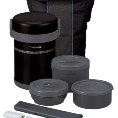 Zojirushi Zojirushi - Classic Bento Vacuum Insulated Thermos Lunch Jar Set