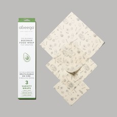 Abeego Abeego - Beeswax Food Wraps - Variety Pack