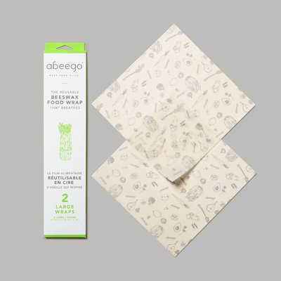 Abeego Abeego - Beeswax Food Wraps - Large