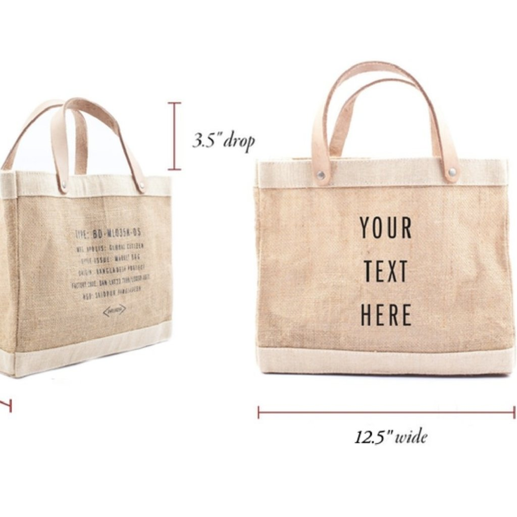 Apolis Apolis - Jute Market / Lunch Bag
