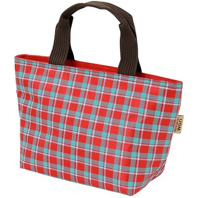 Yellow Studio Yellow Studio - UGM Cooler Lunch Tote -Checkered