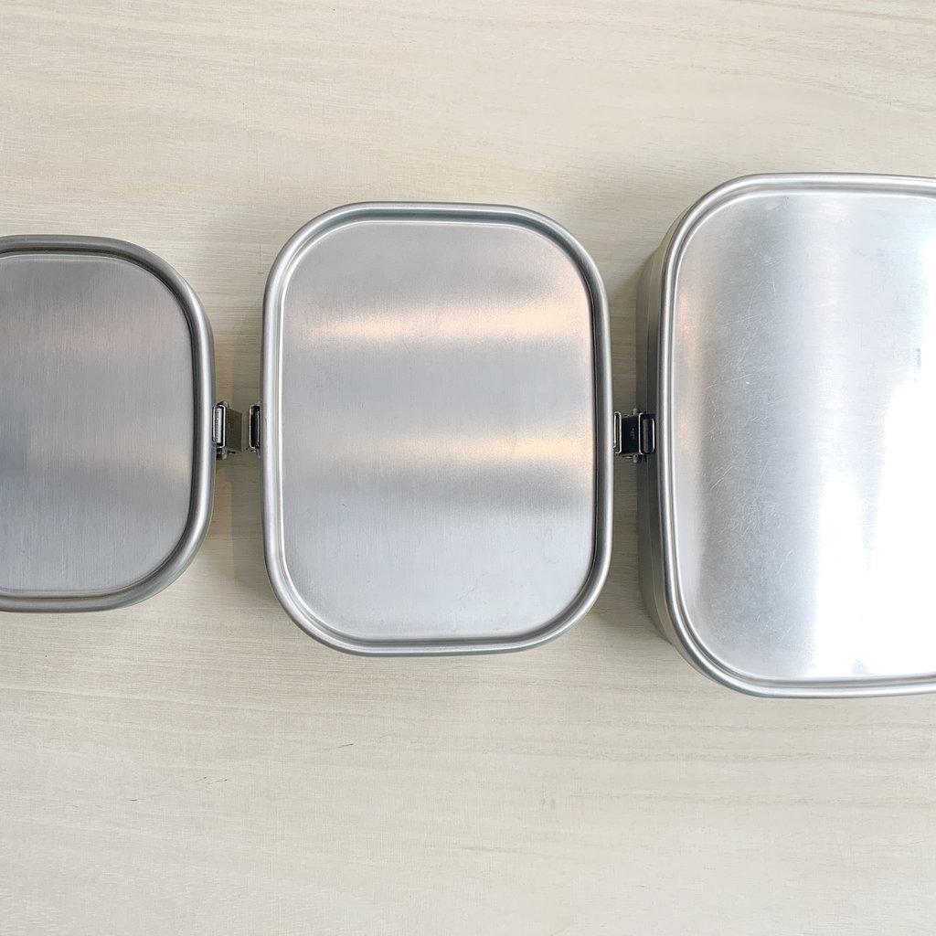 Aizawa Aizawa - Stainless Steel Bento Box - 670ml Square