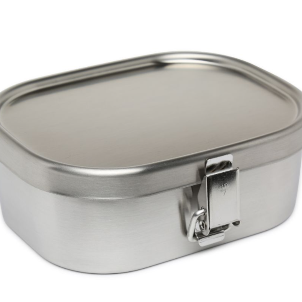 A - Stainless Steel Bento Box - 1000ml Square