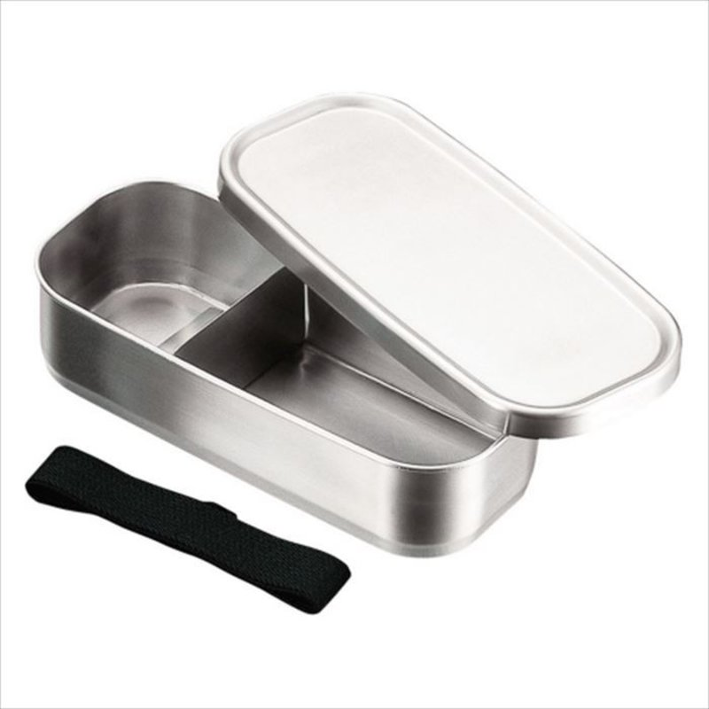 A - Boîte à Bento Inox - 500ml Rectangle