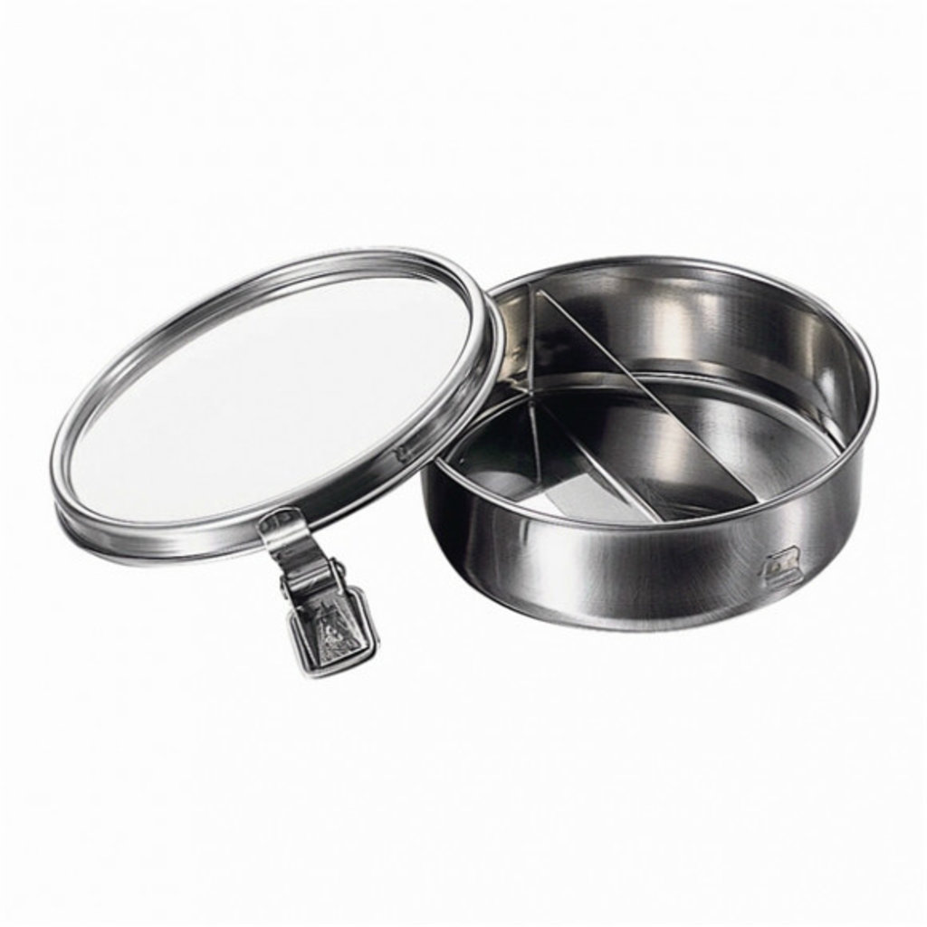 A - Stainless Steel Bento Box - 400ml Round