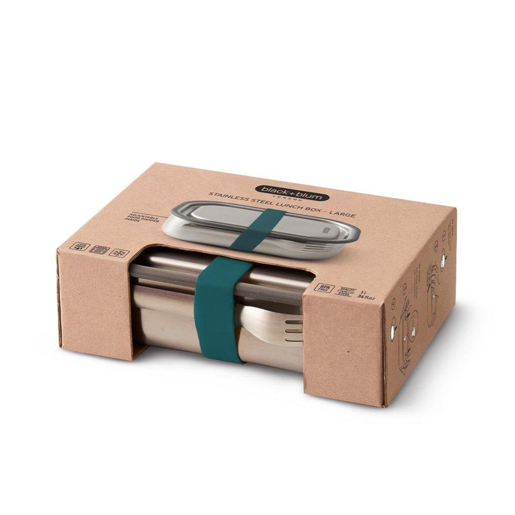Black & Blum Lunchbox multi-fonctionnelle en acier inoxydable Box Appétit