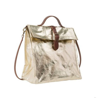 Uashmama Uashmama - Lunch Bag Metallic with strap