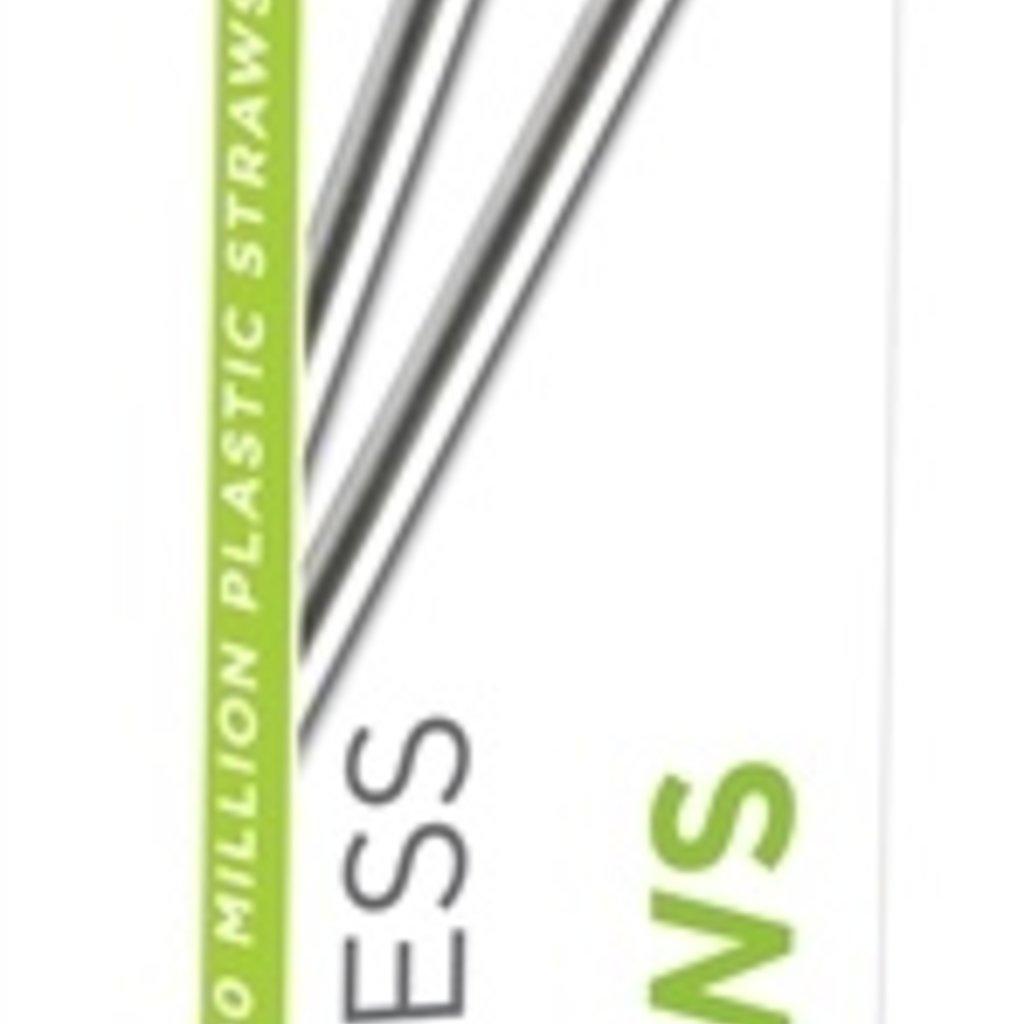 U Konserve Pailles réutilisables en inox U Konserve - Paquet de 2