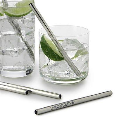 U Konserve Drink - U Konserve - Stainless steel mini straw - set of 4