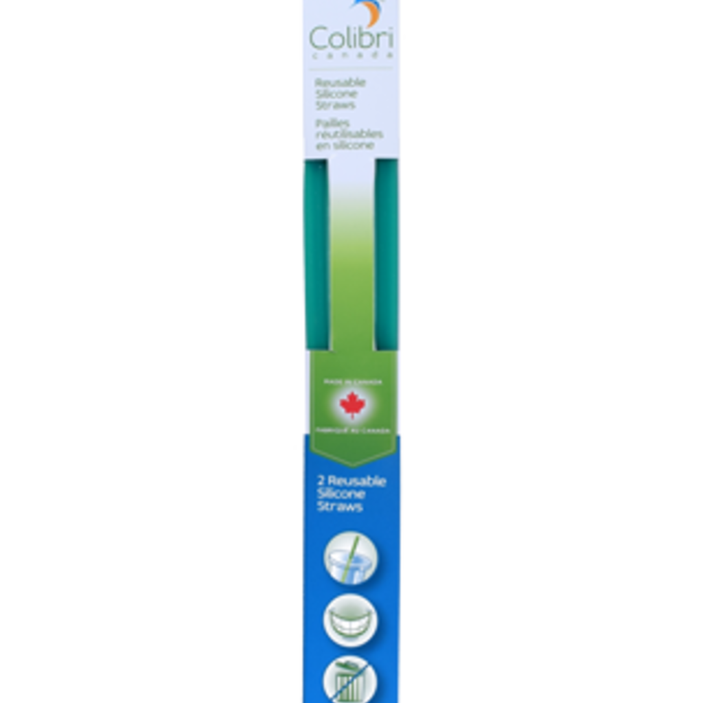 Colibri Drink - Colibri - Reusable Silicone Straws - 2 Pack