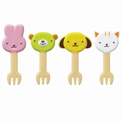 Torune Torune - Bento Art - Food Picks Cat & Dog Forks