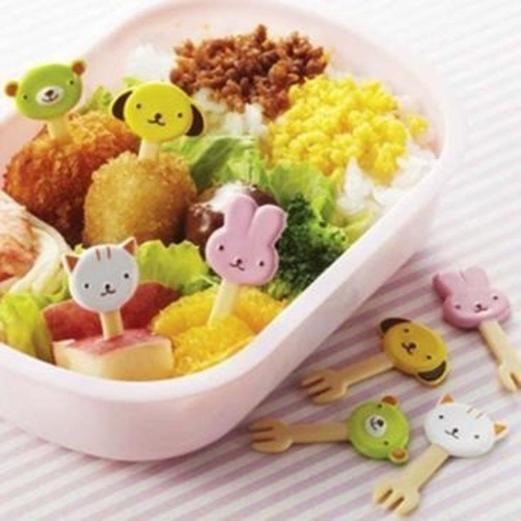 Torune Torune - Bento Art - Food Picks Cat & Dog Forks
