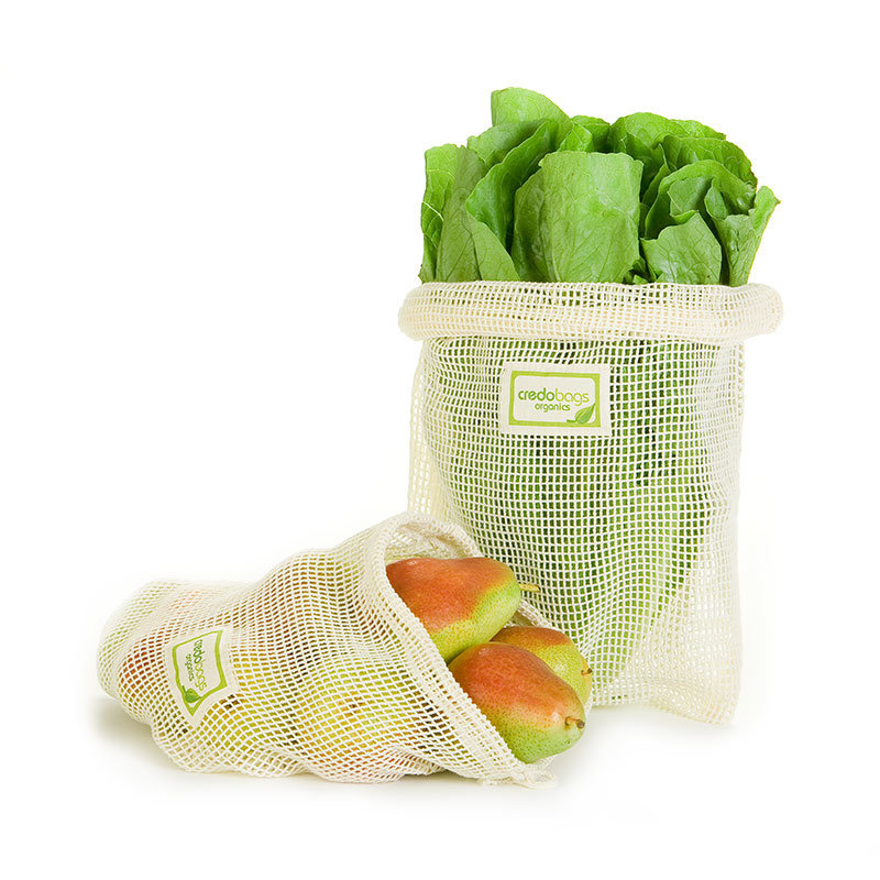 Credobags Sac filet à fruits et legumes CredoBags - Moyen
