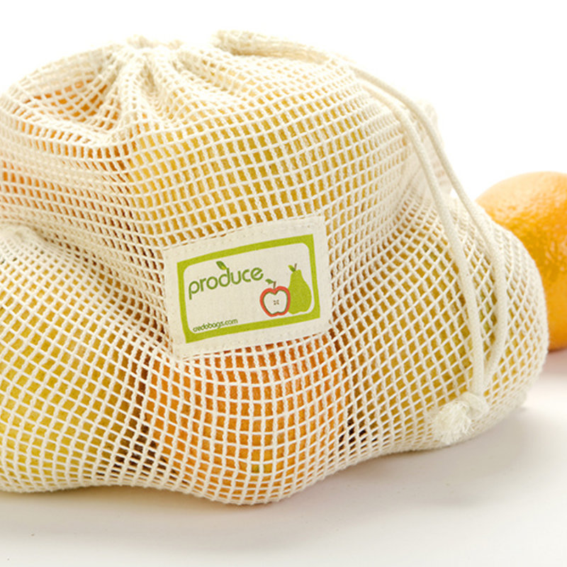 Credobags Sac filet à fruits et legumes CredoBags - Grand