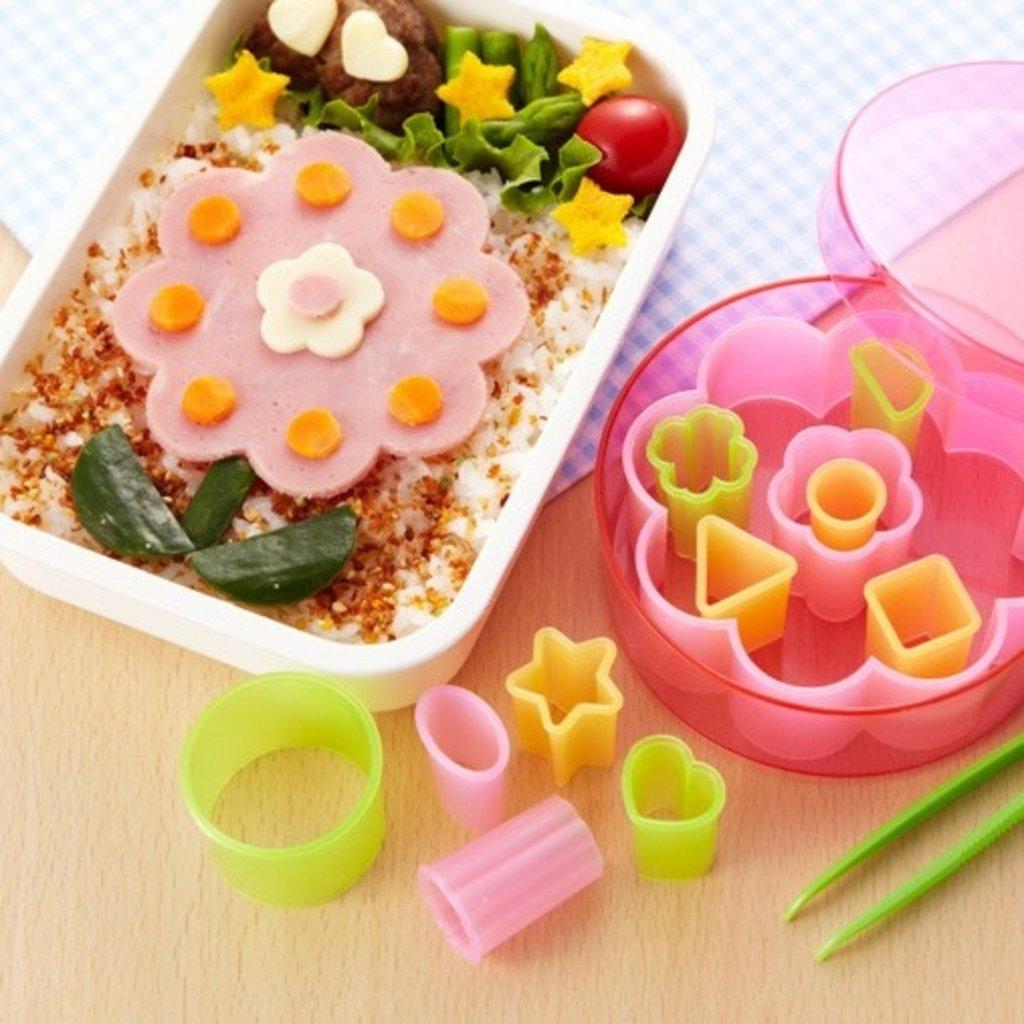 Torune Torune - Bento Art Food Cutter Set