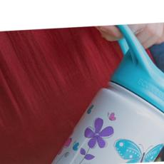 Bouteille isotherme avec paille Frost Kids de EcoVessel