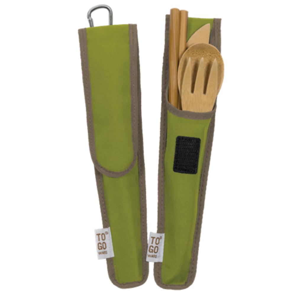 To-go Ware Set d'ustensiles en bambou Repeat de To-Go Ware