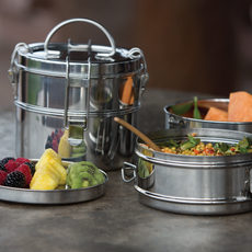 To-go Ware Contenant à repas pour emporter 2 niveaux en inox Tiffin de To-Go Ware