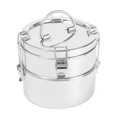 To-go Ware To-go Ware - 2 Tier Stainless Steel Tiffin Food Carrier