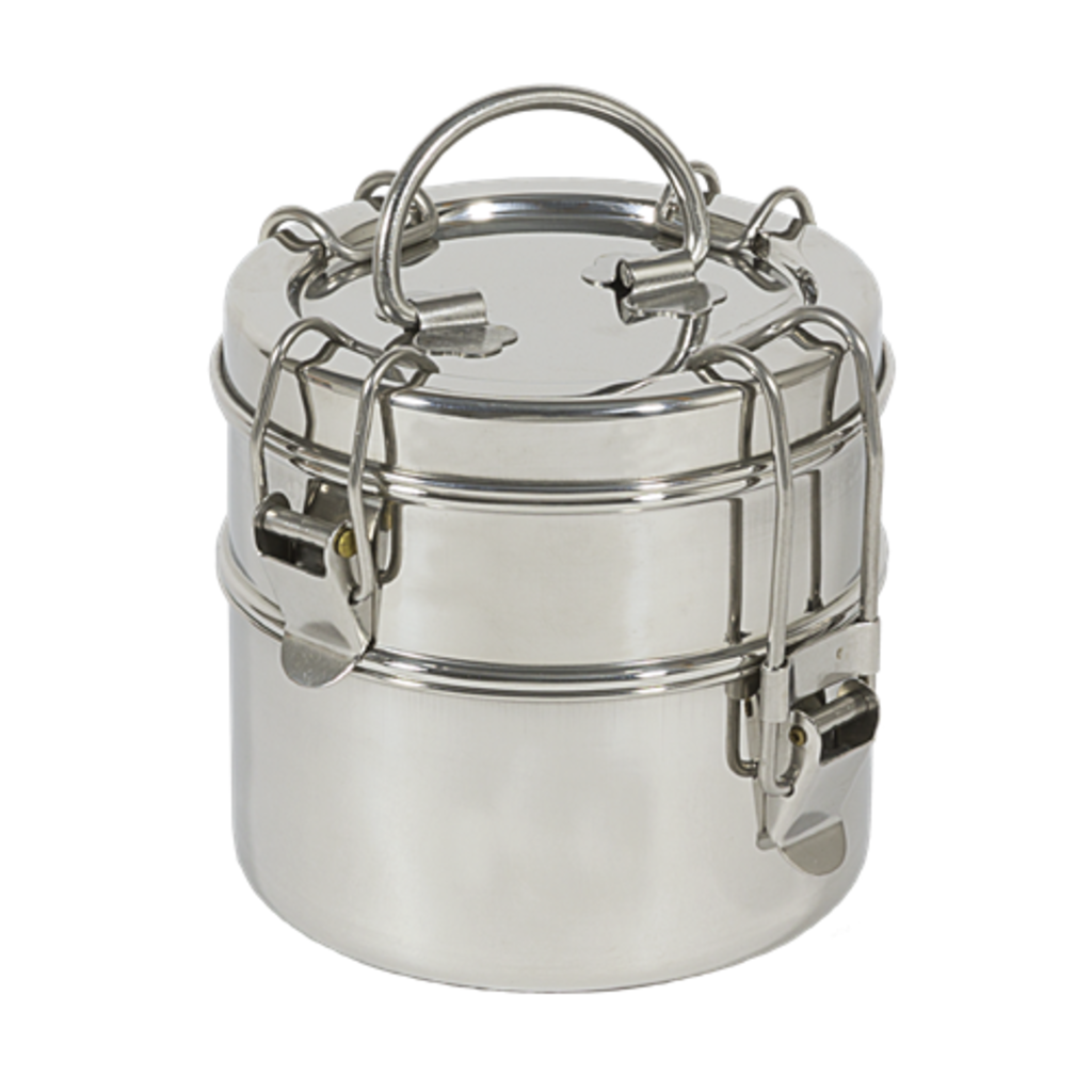 To-go Ware To-go Ware - 2 Tier Stainless Steel Tiffin Snack Carrier