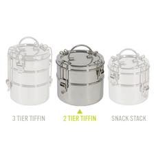 To-go Ware Contenant à repas pour emporter 3 niveaux en inox Tiffin de To-Go Ware