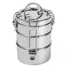 To-go Ware To-go Ware - 3 Tier Stainless Steel Tiffin Food Carrier