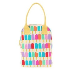Fluf Fluf - Organic Cotton Zipper Lunch Bag - Graphic