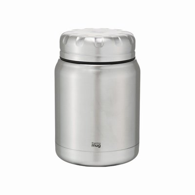 Thermo Mug Thermomug - Tank - Insulated Thermos Jar Silver