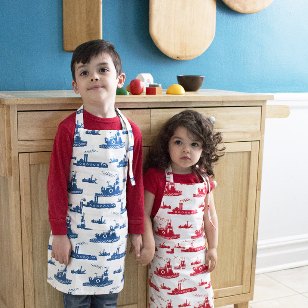 Foxy & Winston Tablier pour enfant en coton bio de Fox & Winston