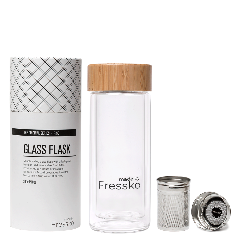 Fressko Drink - Fressko - Glass RISE Flask - 295ml