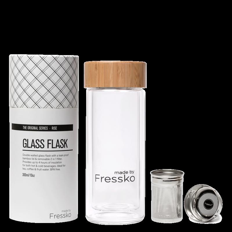 Fressko Drink - Fressko - Glass RISE Flask - 295ml