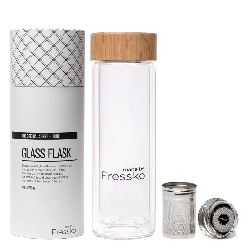 Fressko Drink - Fressko - Glass TOUR Flask - 400ml