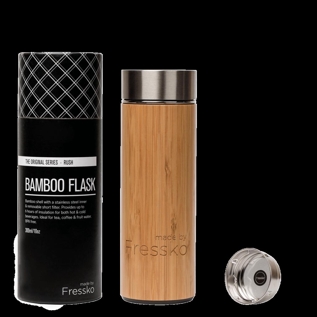 Fressko Bouteille en bambou RUSH de Fressko - 300ml