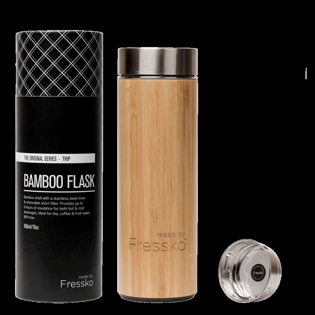 Fressko Bouteille en bambou TRIP de Fressko - 450ml