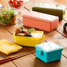 Gel Cool Gel cool - Square Bento Lunch Box - 0.4L
