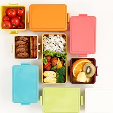 Gel Cool Gel Cool - Square Bento Lunch Box - 0.22L