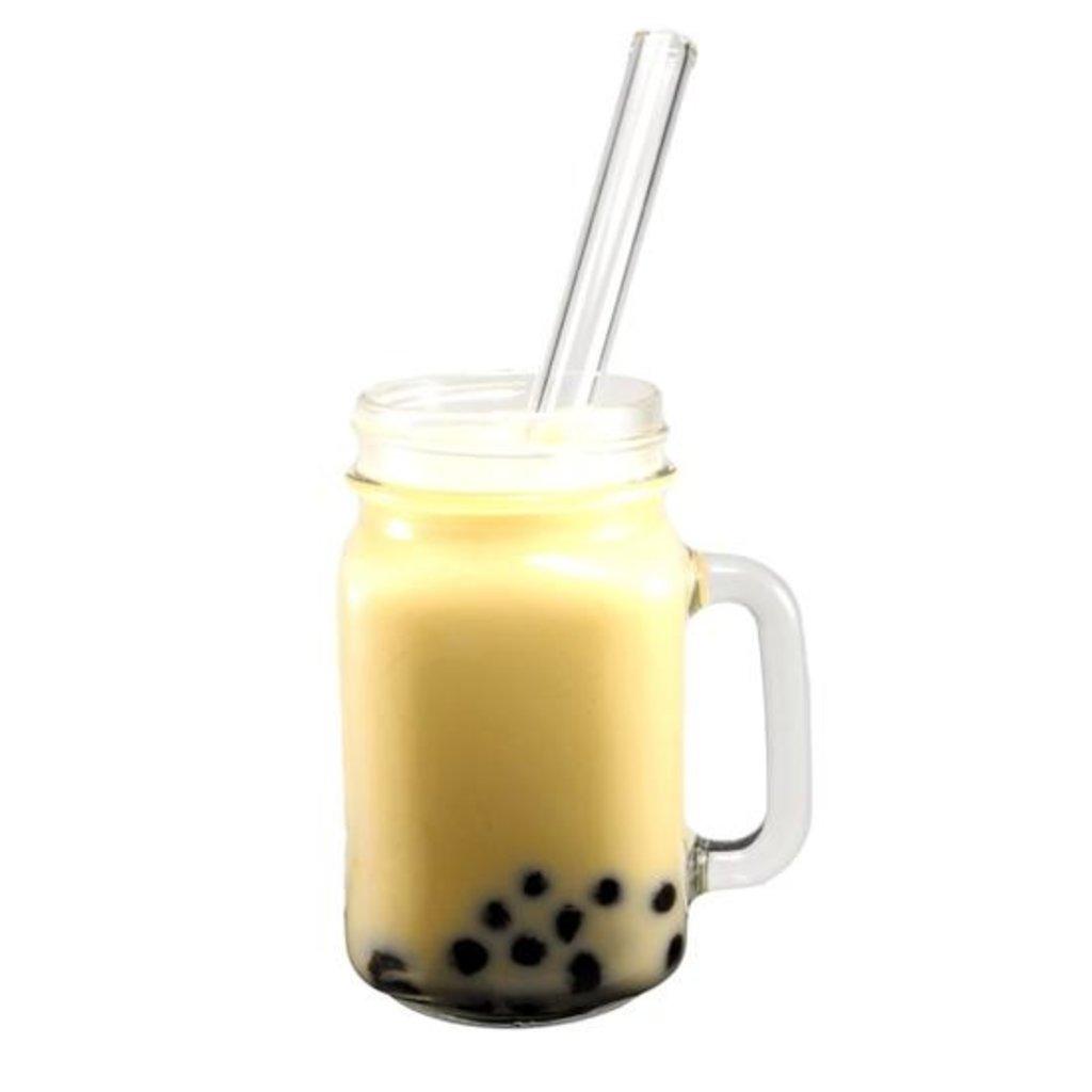 Glass Sipper Paille réutilisable en verre Bubble Tea - Glass Sipper