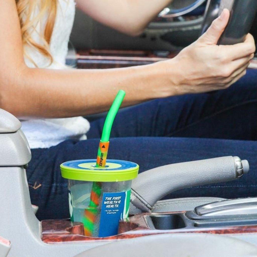 GreenPaxx Drink - GreenPaxx - Silicone 2-piece reusable straws