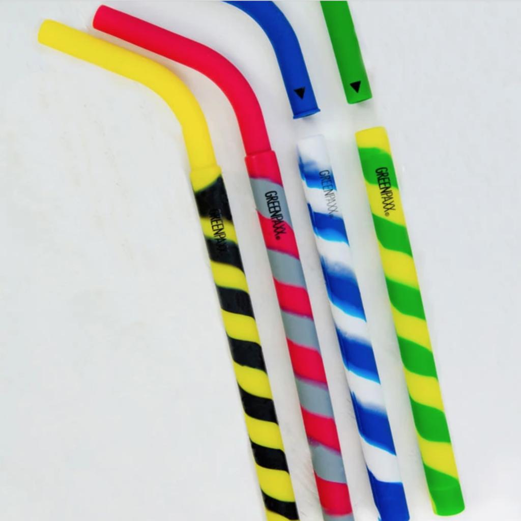 GreenPaxx Pailles réutilisables en silicone de Greenpaxx