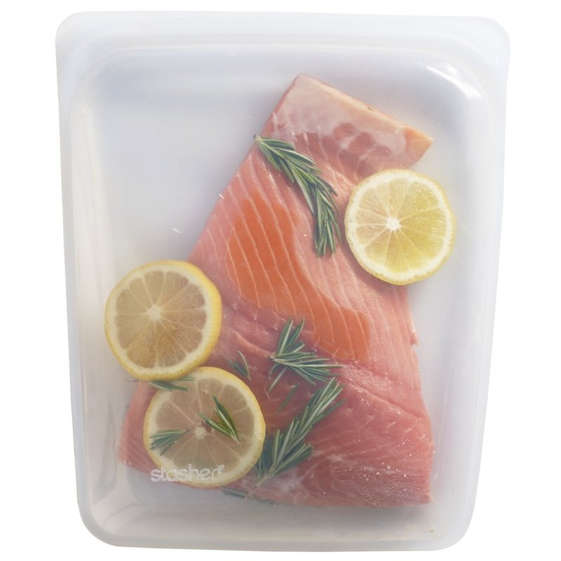 Stasher Stasher - Reusable Silicone Bag - Half-Gallon Sous-Vide
