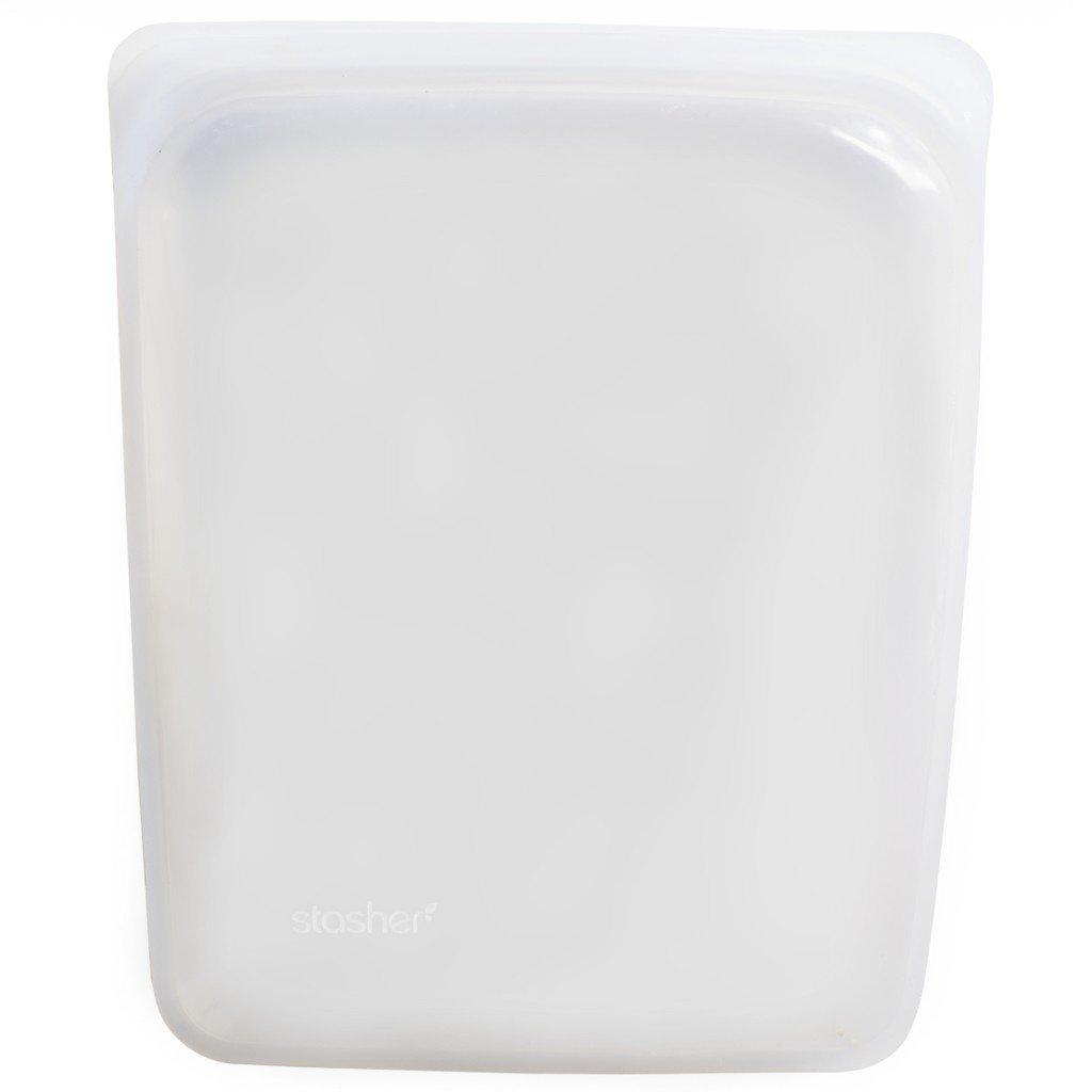 Stasher Sac réutilisable de demi-gallon en silicone Stasher