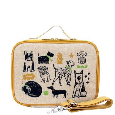 Soyoung Soyoung - Insulated Linen Lunchbox for kids