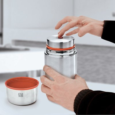 Iris Iris - Insulated Stainless Steel thermal Jar - 1L