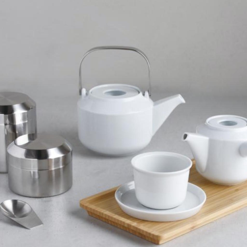 Kinto Boîte à thé en inox Leaves to Tea de Kinto - 250ml