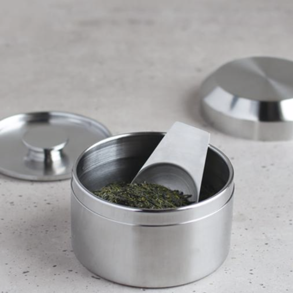 Kinto - LT - Stainless Steel Tea Canister - 250ml